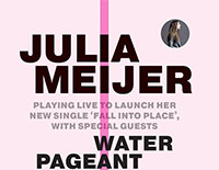 Julia Meijer at Modern Art Oxford gig poster