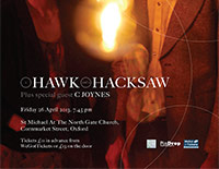 A Hawk And A Hacksaw / C Joynes poster