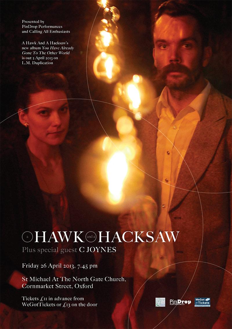 A Hawk And A Hacksaw / C Joynes poster