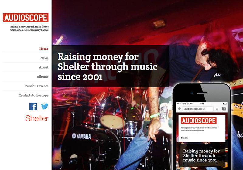 Audioscope website