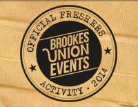 Brookes Union freshers 2014 campaign artwork
