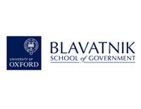 Blavatnik School of Government - branding