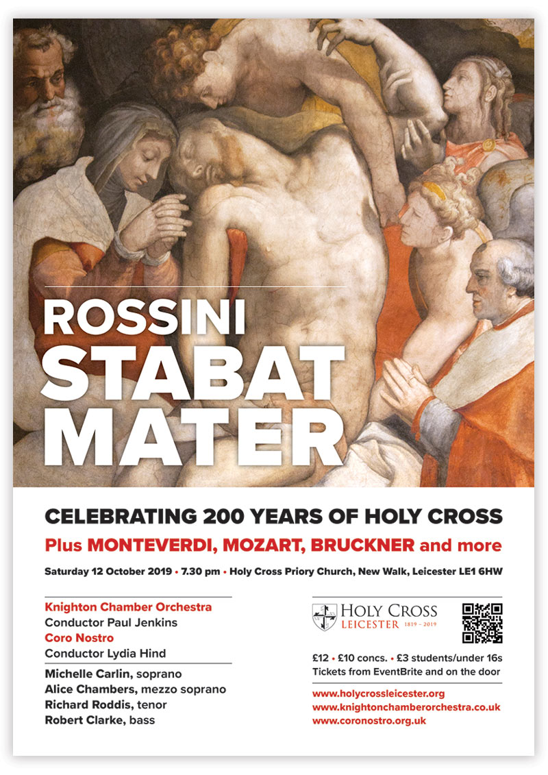 Celebrating 200 years of Holy Cross poster