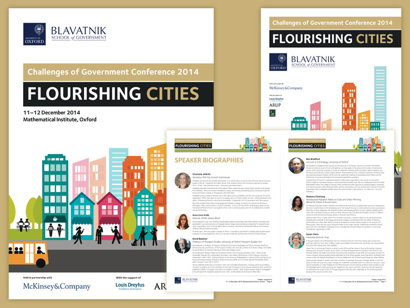 Challenges Of Government Conference 2014 branding
