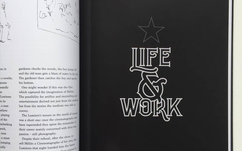 The Long-Lost Autobiography of Georges Méliès book design –4 of 4