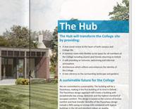 Kellogg College Hub brochure