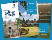 Information leaflets for Kellogg College