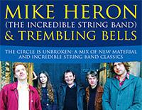 Mike Heron & Trembling Bells / Art Theefe poster