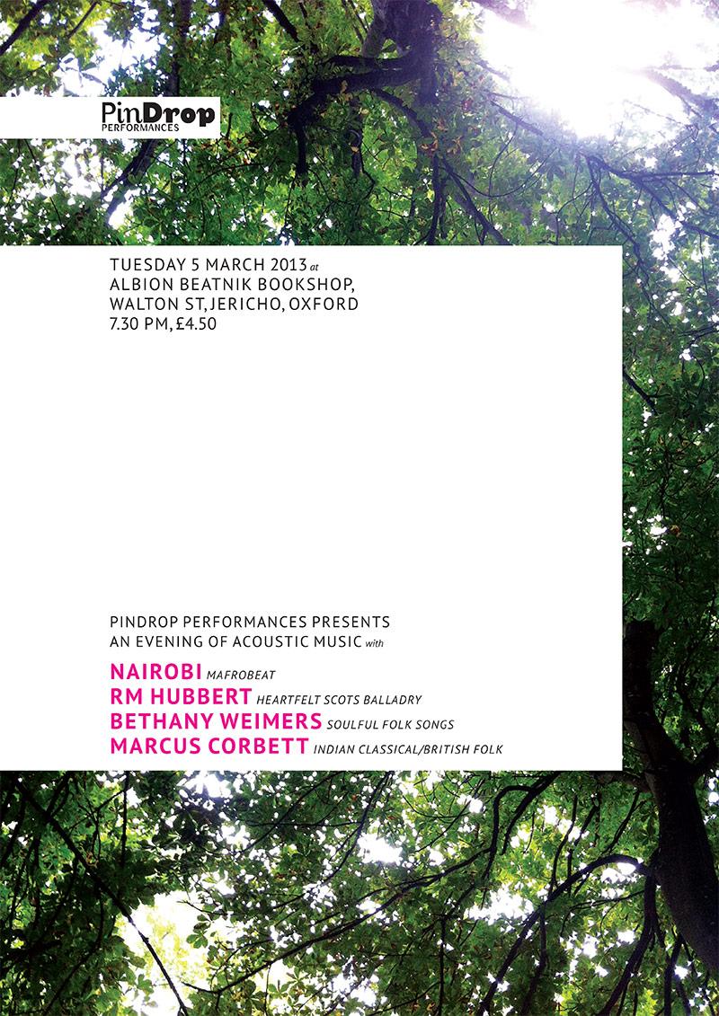 Nairobi / RM Hubbert / Bethany Weimers / Marcus Corbett poster