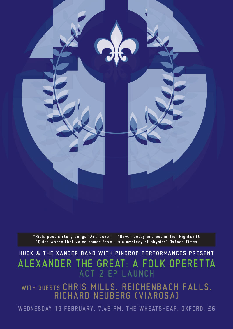 Alexander The Great: A Folk Operetta - Act 2 EP launch