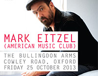 Mark Eitzel / The Dreaming Spires (Acoustic) poster
