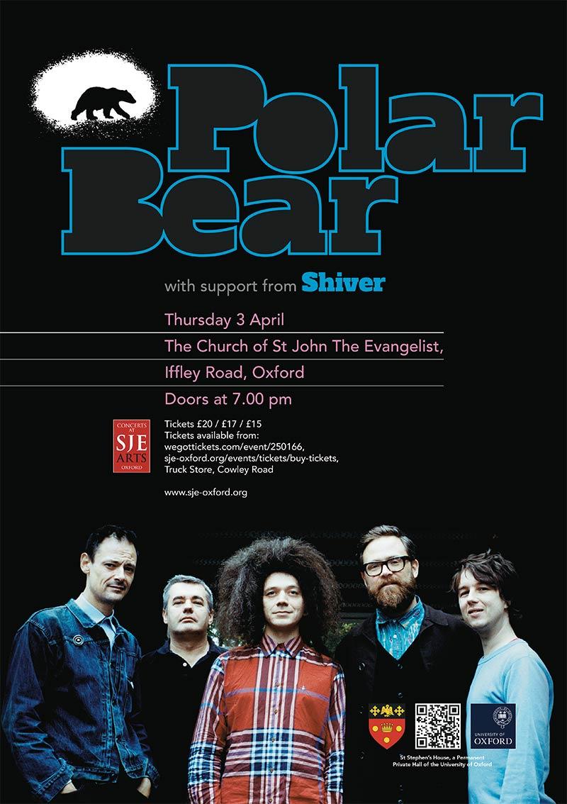 Polar Bear / Shiver poster