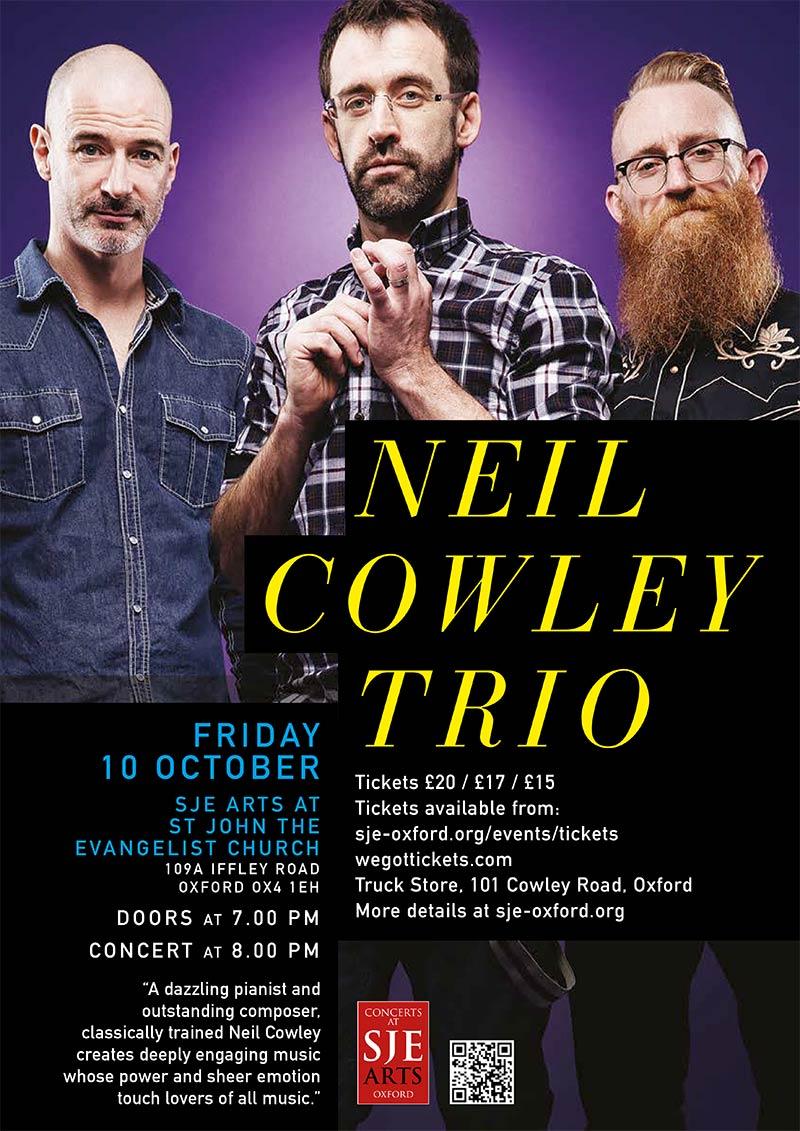 Neil Cowley Trio poster