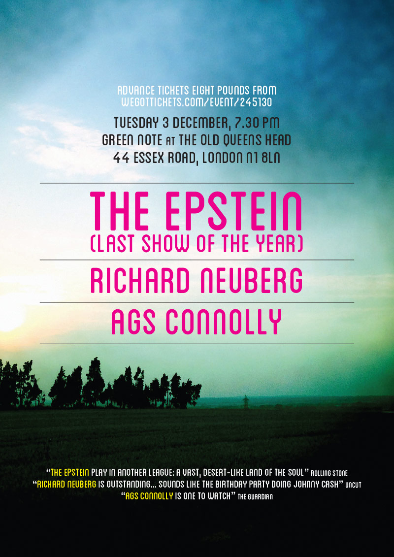 The Epstein / Richard Neuberg / Ags Connolly poster