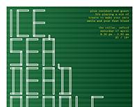 Ice, Sea, Dead People / Vixens poster